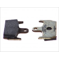 Plaquettes de frein Rear argento-AG 59 1x44 6x9 6mm HONDA X8R/ SZX