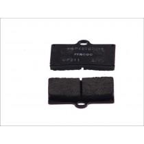 Plaquettes de frein Rear 59 9x57 2x8 1mm