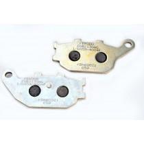 Plaquettes de frein Rear argento-AG 86 1x40 2x8 9mm