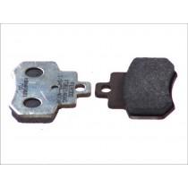 Plaquettes de frein Rear argento-AG 55 6x46x7mm KYMCO GRAND DINK 250 2001-