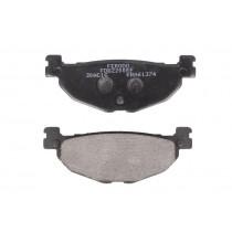 Plaquettes de frein Rear eco friction-EF 100 1x38 3x12mm