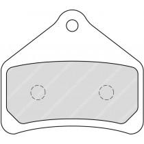 Plaquettes de frein Front  79 1x69 1x10 3mm