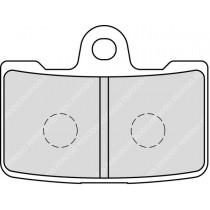 Plaquettes de frein Front 61 6x46 6x7 4mm