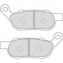 Plaquettes de frein Rear 127 6x52 6x7 4mm