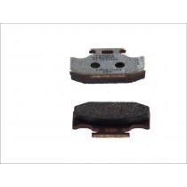 Plaquettes de frein Rear 62 1x40 9x9 4mm KAWASAKI KLX KX