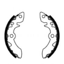 Etriers de frein arrière  front 140x20mm include springs