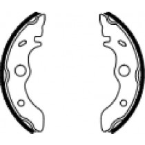 Etriers de frein arrière  front 160x30mm include springs