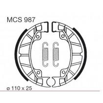 Etriers de frein arrière  front 110x25mm include springs PIAGGIO/VESPA SFERA 1 SFERA 2 50/80 1991-